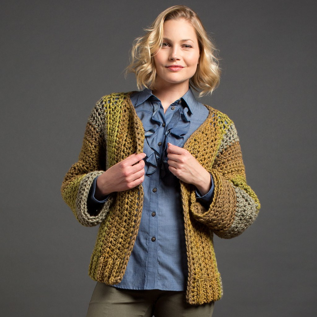 Luxury Caron Tea Cakes™ Crochet Boxy Cardigan In Maple Mocha Caron Tea Cakes Patterns Of Incredible 46 Pics Caron Tea Cakes Patterns