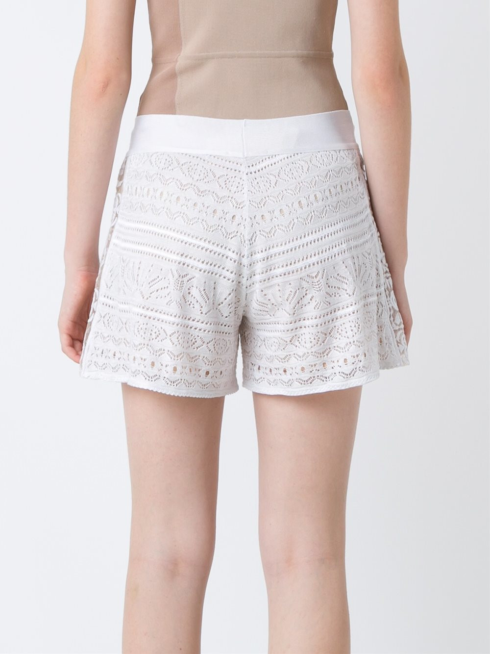 Luxury Cecilia Prado Crochet Shorts Women Cotton Acrylic White Crochet Shorts Of Amazing 40 Photos White Crochet Shorts
