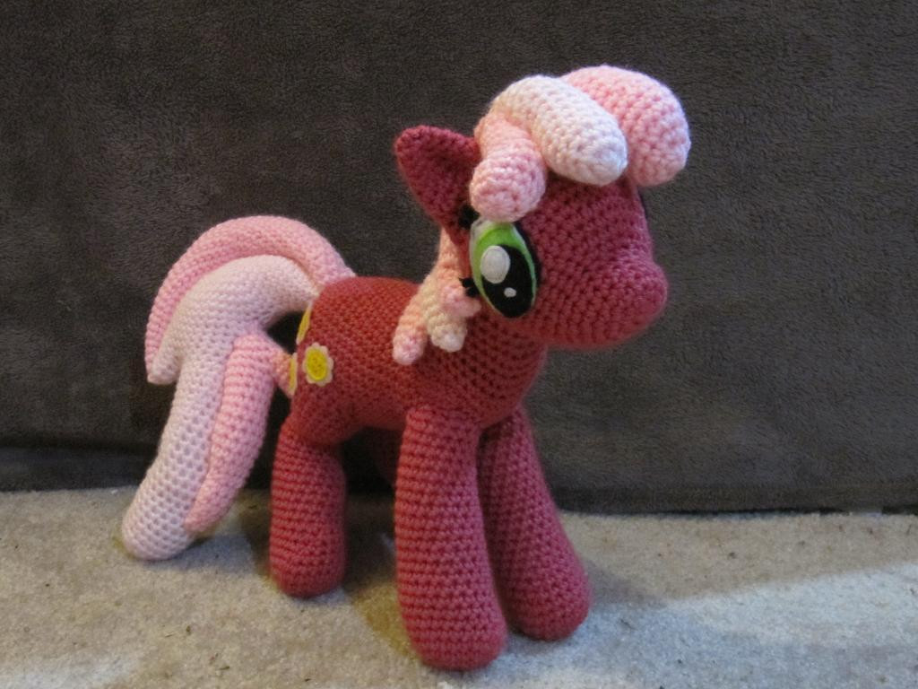 Luxury Cheerilee From My Little Pony by Nerdyknitterdesigns Craftsy My Little Pony Crochet Pattern Of Brilliant 49 Ideas My Little Pony Crochet Pattern