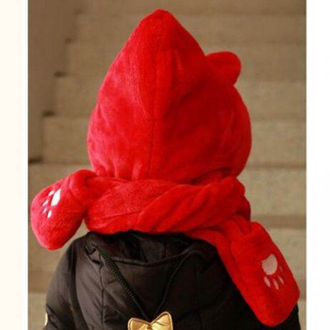 Luxury Children S Hat Scarf and Gloves Set Cosplay Cat Hat with Children's Scarves Of New 48 Pictures Children's Scarves