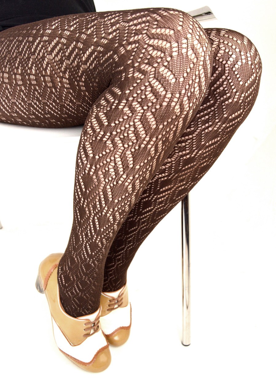 Luxury Chocolate Peacock Feather Crochet Pattern Tights – La S Crochet Tights Of Charming 48 Ideas Crochet Tights