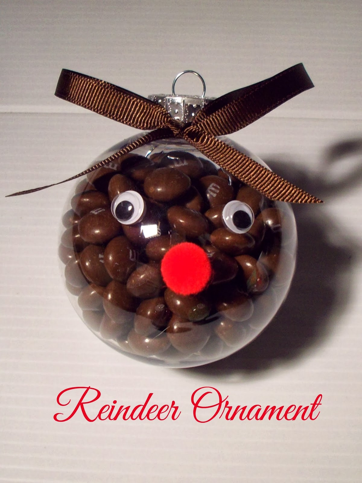 Luxury Christmas ornament Craft with M&m S Food Crafts and Family Christmas Reindeer ornaments Of Adorable 44 Pictures Christmas Reindeer ornaments