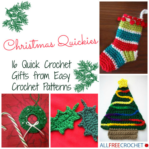 Luxury Christmas Quickies 16 Quick Crochet Gifts From Easy Easy Crochet Gifts Of Superb 42 Pictures Easy Crochet Gifts