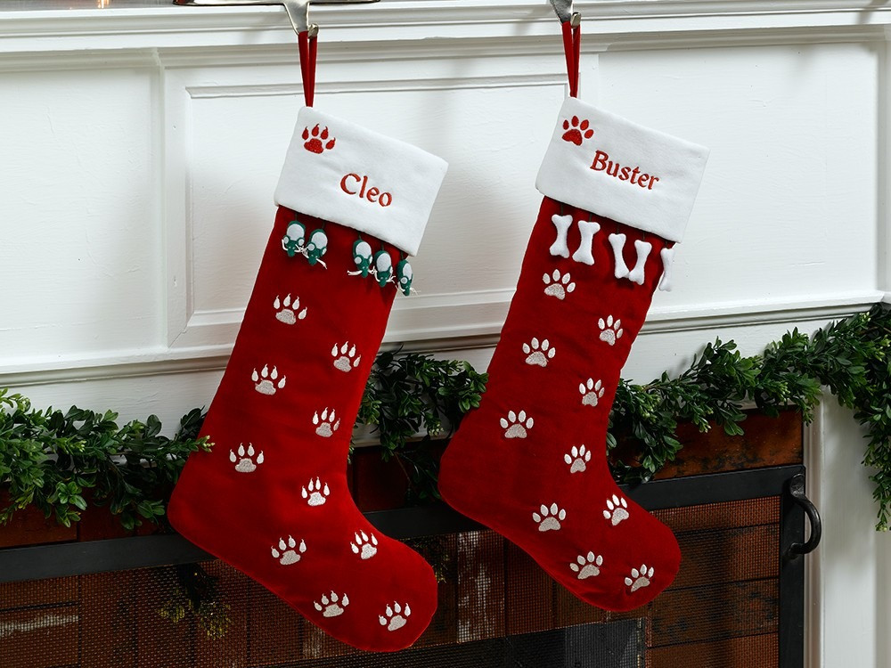 Luxury Christmas Stockings for Dogs Dog Paw Stocking Of Charming 44 Ideas Dog Paw Stocking