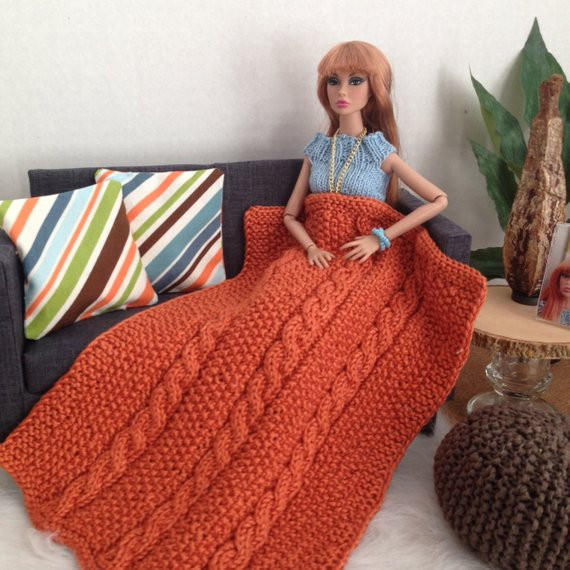 Luxury Chunky Cable Knit Throw Blanket In Burnt orange with or Chunky Cable Knit Throw Of New 48 Images Chunky Cable Knit Throw