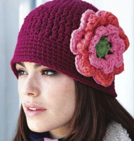 Luxury Chunky Crochet Cloche Pattern Crochet Flower for Hat Of Beautiful 45 Photos Crochet Flower for Hat