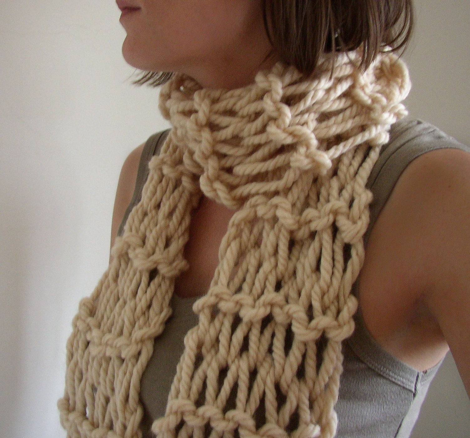 Luxury Chunky Hand Knit Womens Scarf Chunky Knit Scarf Pattern Of Adorable 50 Ideas Chunky Knit Scarf Pattern