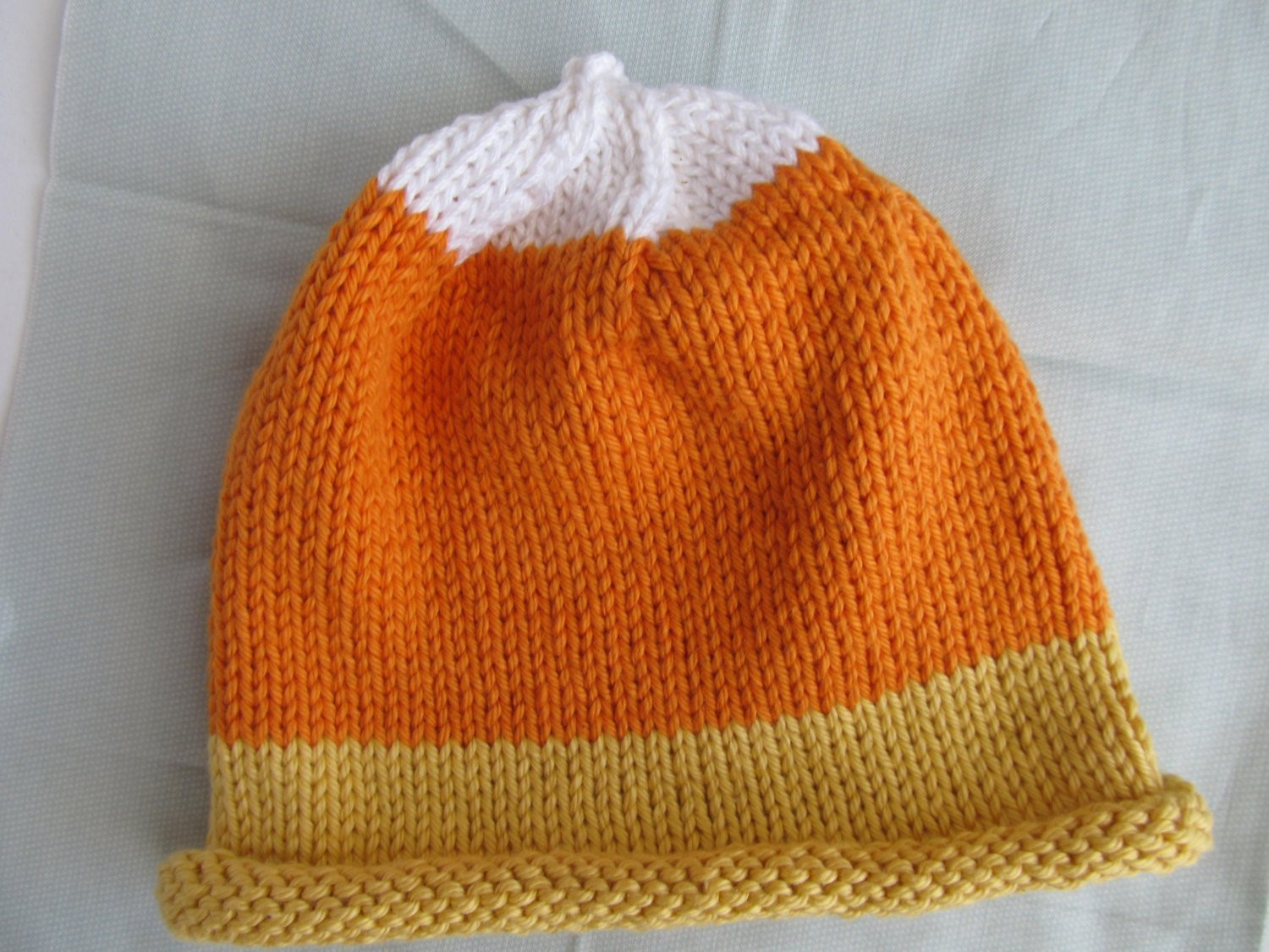 Luxury Cotton Handknit Hat Baby or toddler Hat Candy Corn Hat Candy Corn Hat Of Incredible 42 Pictures Candy Corn Hat