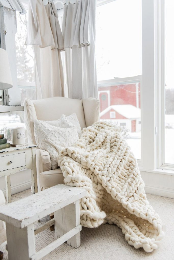 Luxury Cozy Chunky Knit Blanket Decor Ideas Homelovr Chunky Knit Wool Blanket Of Adorable 43 Photos Chunky Knit Wool Blanket