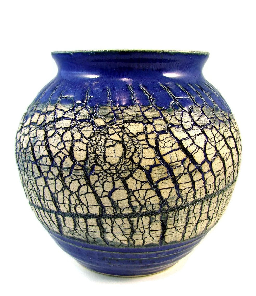 Luxury Crackled Art Vase Handmade Ceramic Pottery Wheel Thrown Clay Pottery Making Of Gorgeous 43 Photos Clay Pottery Making