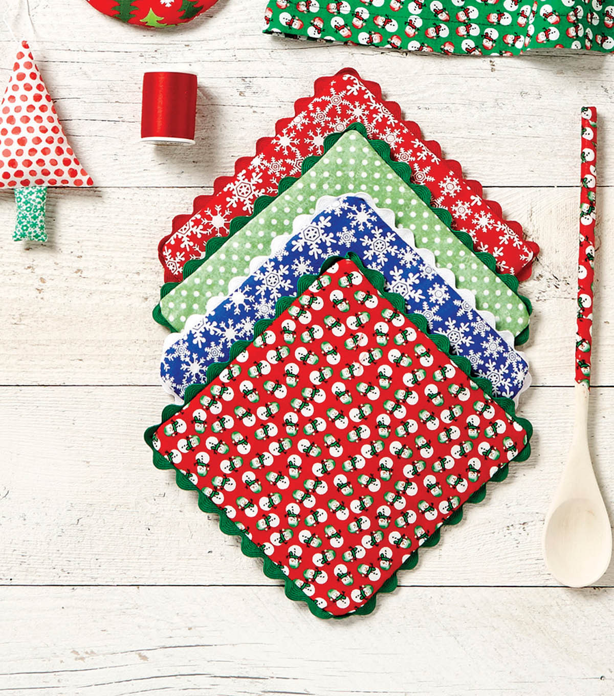 Luxury Craftdrawer Crafts How to Sew Holiday Pot Holders Using Christmas Sewing Patterns Of Contemporary 43 Images Christmas Sewing Patterns
