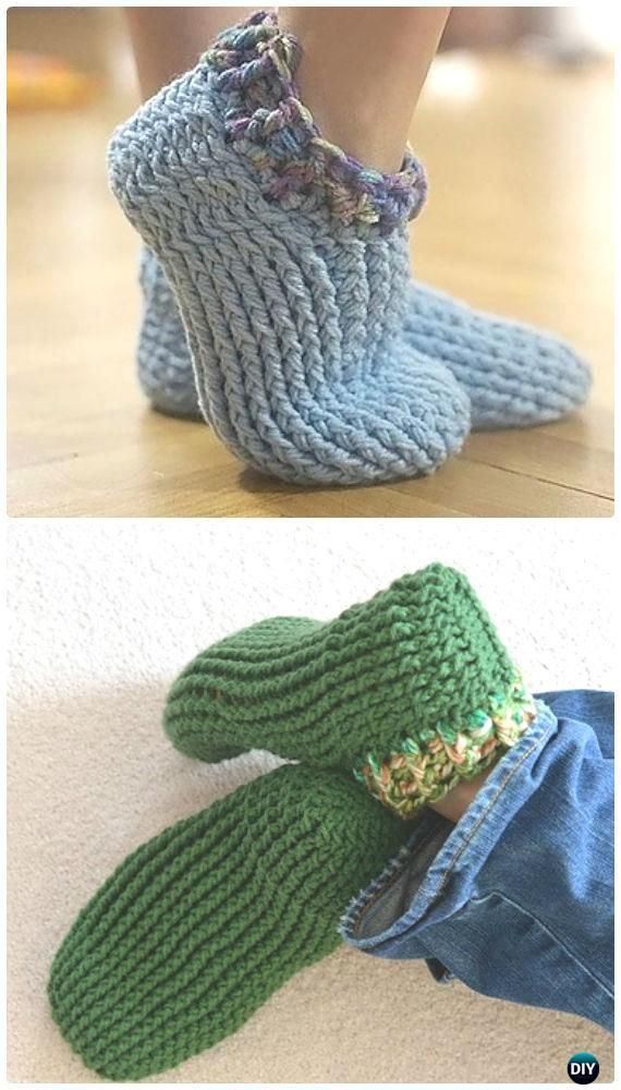 Luxury Crochet Adult Chunky Slippers Free Pattern Crochet Women Crochet Adult Slippers Of Charming 47 Ideas Crochet Adult Slippers
