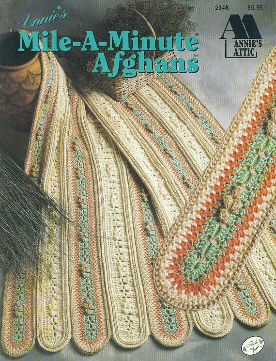 crochet afghan patterns mile a minute