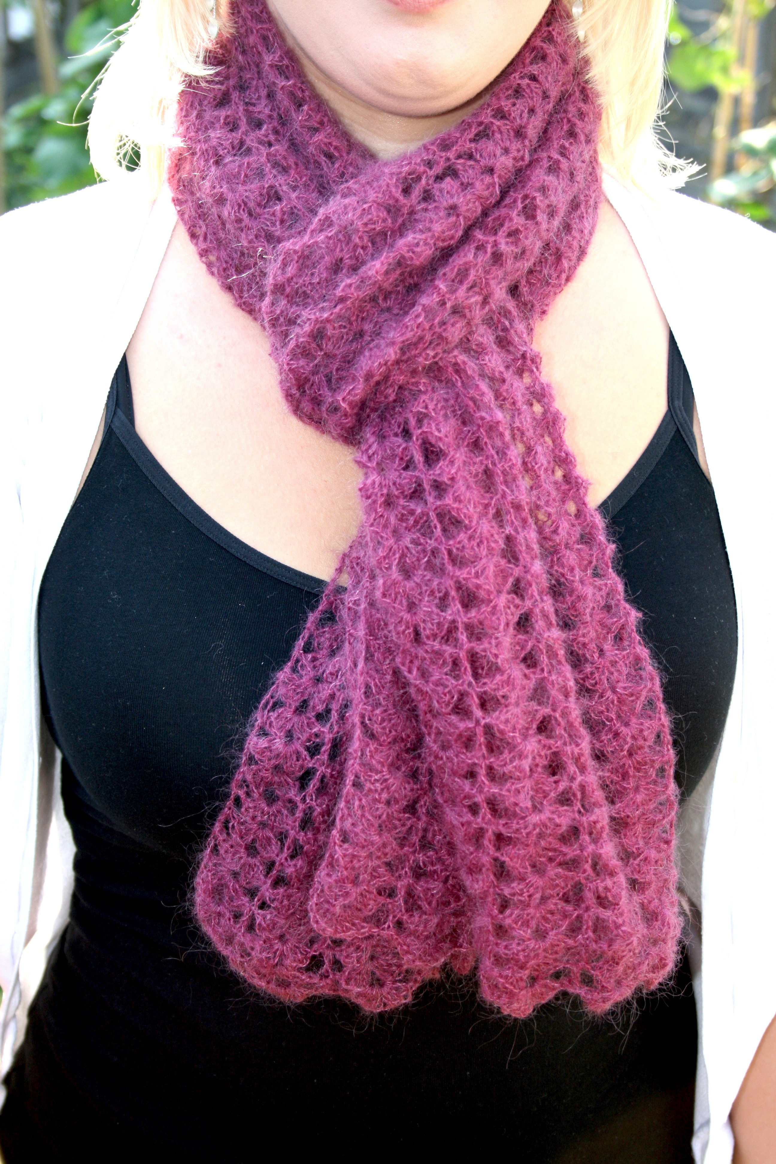Luxury Crochet All About Crocheting Free Patterns and Instructions Crochet Scarves Of Amazing 43 Photos Crochet Scarves