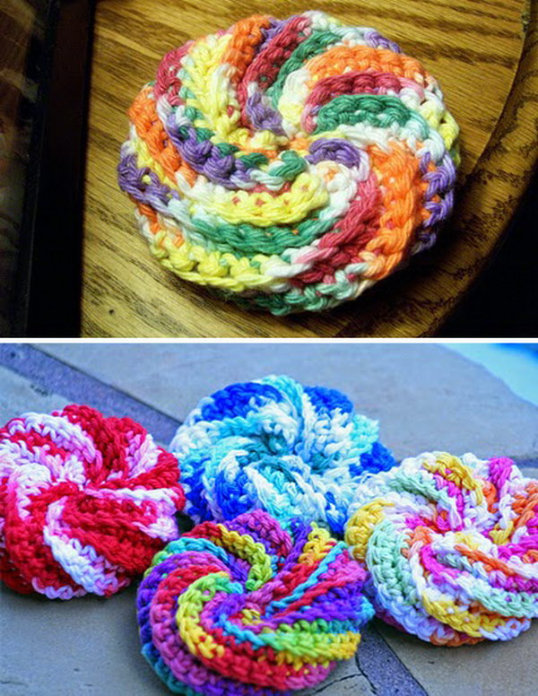 Luxury Crochet & Knitted Dishcloth Patterns Hative Scrubby Yarn Patterns Of Adorable 47 Images Scrubby Yarn Patterns
