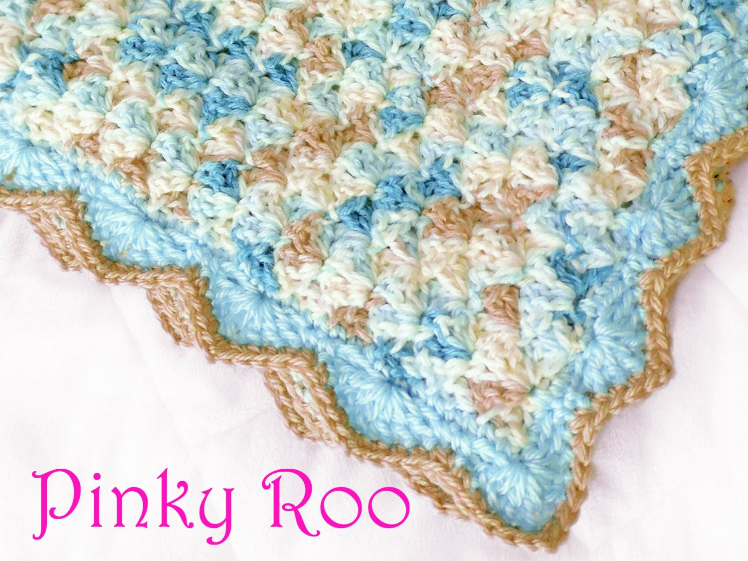 Luxury Crochet Baby Blanket In A Variegated Blue and Beige Colors Variegated Baby Yarn Of Beautiful 49 Pictures Variegated Baby Yarn