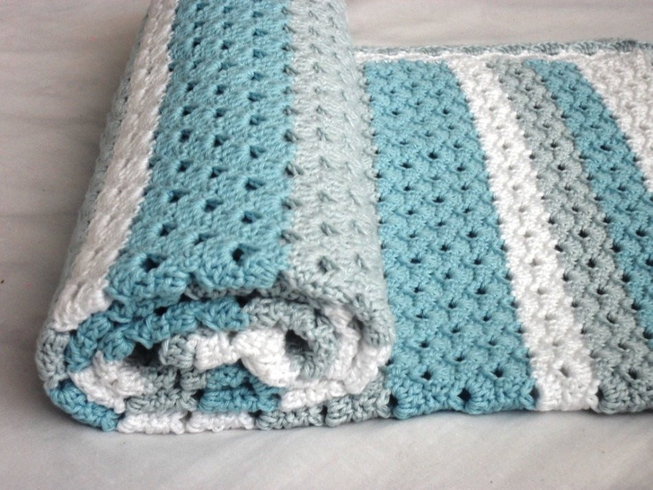 "Luxury Crochet Baby Blanket Pattern ""blue Dreams"" White Crochet Baby Gift Of Innovative 49 Models Crochet Baby Gift"