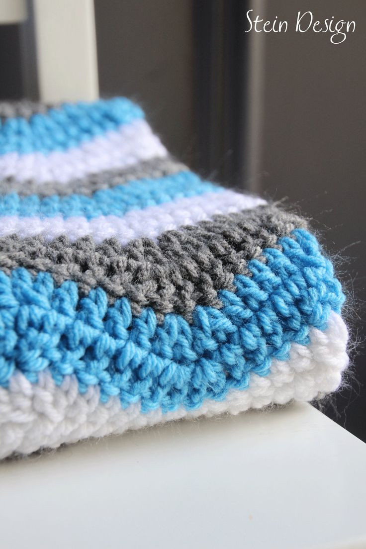 Luxury Crochet Baby Blanket soft Ripple Pattern White Gray and Crochet Directions Of Lovely 43 Photos Crochet Directions