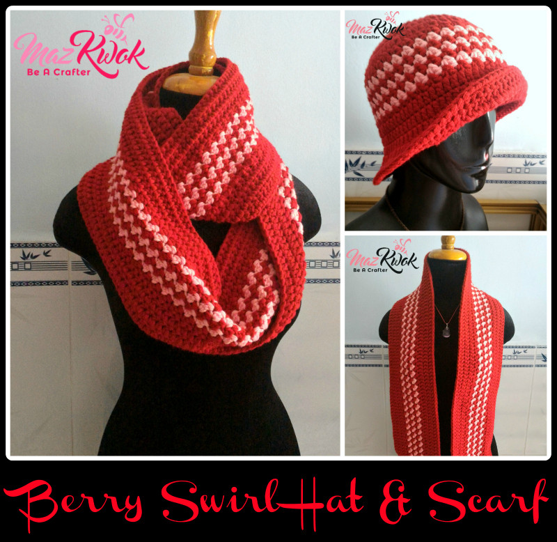 Luxury Crochet Berry Swirl Hat and Scarf Maz Kwok S Designs Hat and Scarf Crochet Pattern Of Lovely 41 Pictures Hat and Scarf Crochet Pattern