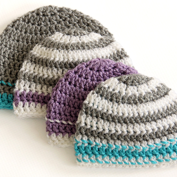 Crochet Caps for a Cause Pattern Dabbles & Babbles