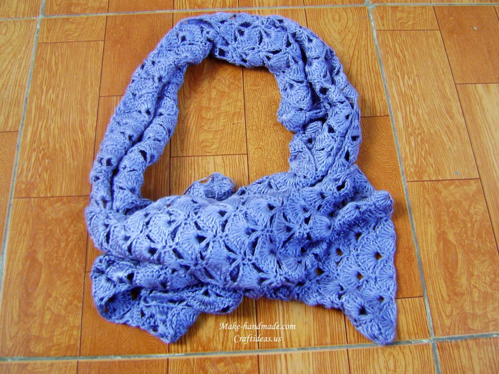 Luxury Crochet Charming Fan and V Stitch Scarf Crochet Lace Scarf Pattern Of Great 44 Pictures Crochet Lace Scarf Pattern