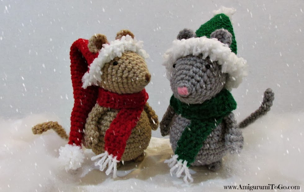 Luxury Crochet Christmas Hat and Scarf for Mouse Amigurumi to Go Free Christmas Crochet Patterns Of Charming 49 Images Free Christmas Crochet Patterns