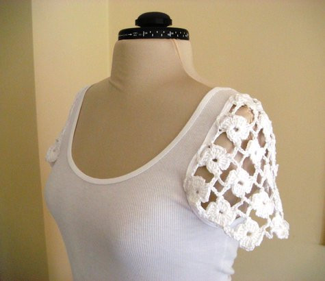 Luxury Crochet Cup Sleeves top – Sewing Projects Crochet Sleeve Of Top 48 Ideas Crochet Sleeve