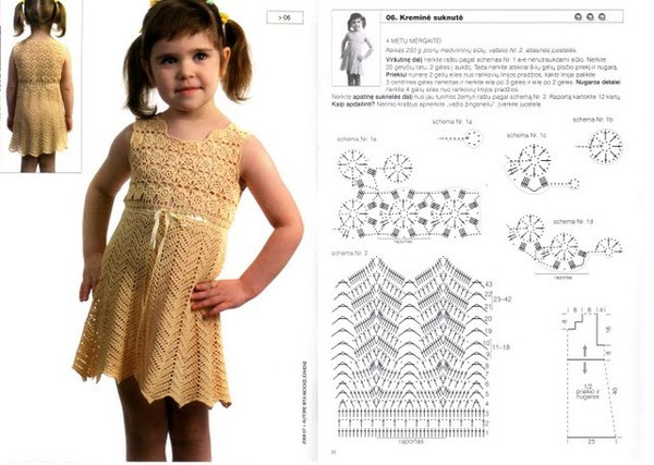 Luxury Crochet Dress for Little Girls On the Summer Crochet Little Girl Dress Of Awesome 44 Images Crochet Little Girl Dress