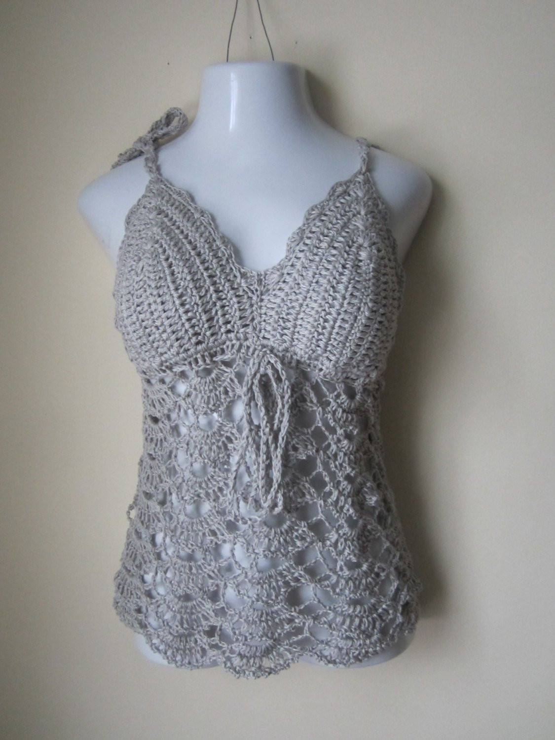 Luxury Crochet Halter top Camisole Crochet Tunic Halter Tunic Crochet Halters Of Incredible 40 Models Crochet Halters
