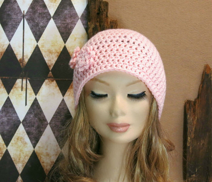 Luxury Crochet Hat Womens Hat Pale Pink Beanie Crochet Wool Pink Crochet Hat Of Great 43 Models Pink Crochet Hat