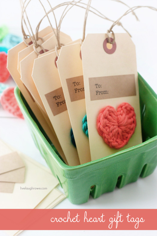 Luxury Crochet Heart Gift Tags Live Laugh Rowe Crochet Tags Of Unique 47 Models Crochet Tags