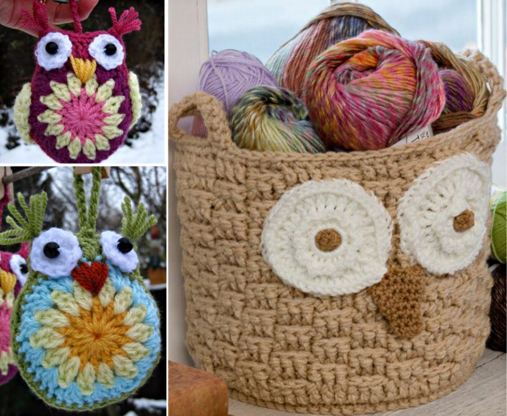 Luxury Crochet Hoot Owl Basket Crochet Owl Basket Of Brilliant 47 Photos Crochet Owl Basket