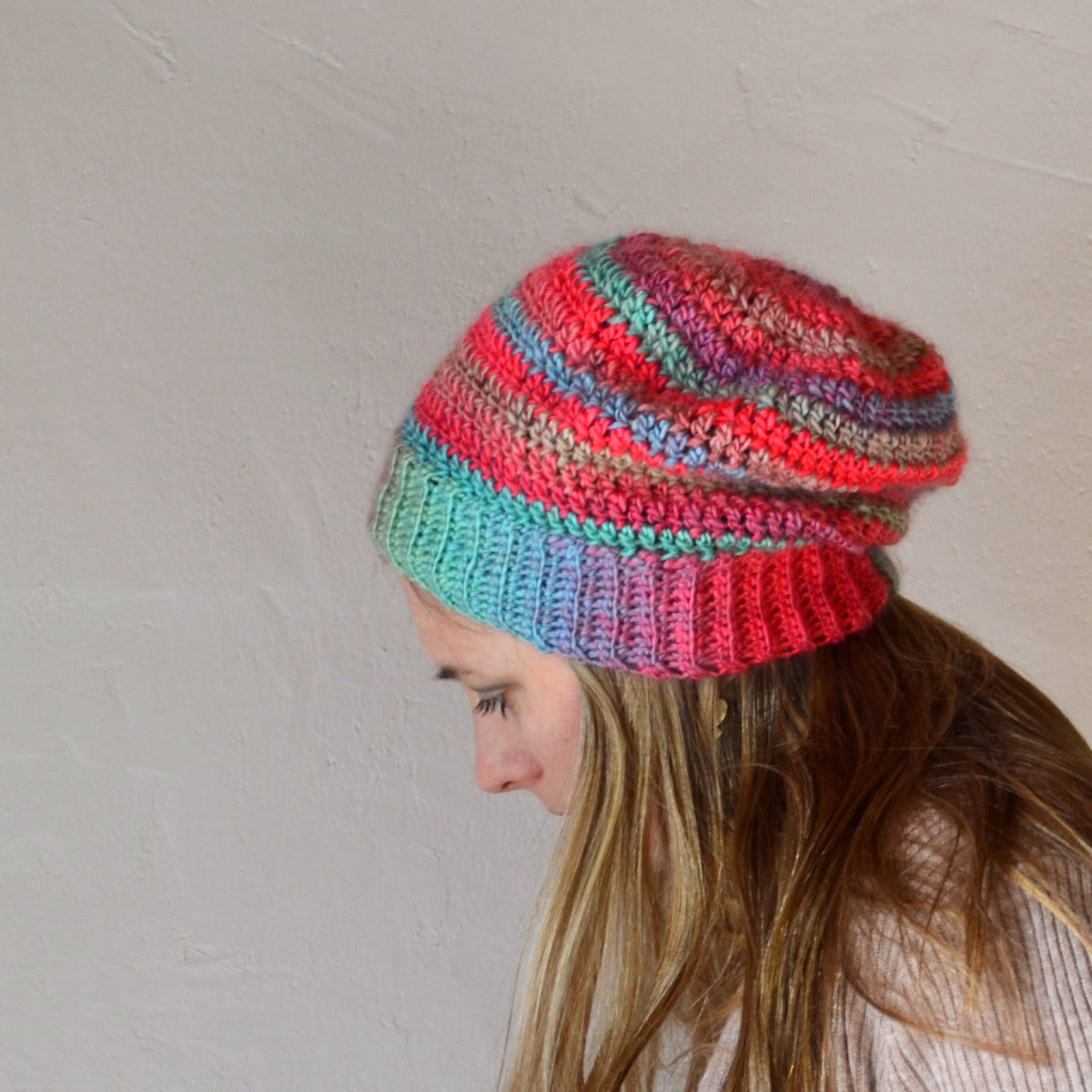 Luxury Crochet In Color Unfor Table Hat Slouchy Beanie Crochet Pattern Free Of Awesome 45 Pics Slouchy Beanie Crochet Pattern Free