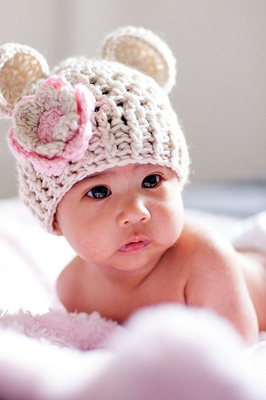 Luxury Crochet Newborn Hat with Beautiful Design Homestylediary Crochet Flower for Hat Of Beautiful 45 Photos Crochet Flower for Hat