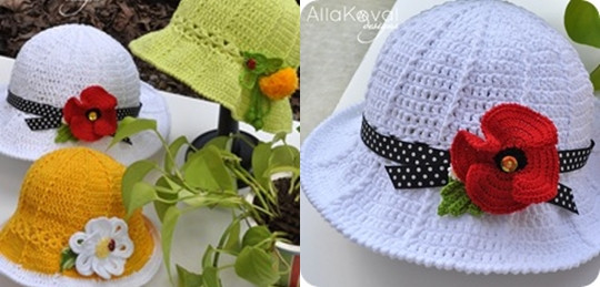 Luxury Crochet Panama Hat for Girls [free Pattern and Video Tutorial] Crochet Hat for Girl Of Amazing 41 Pictures Crochet Hat for Girl