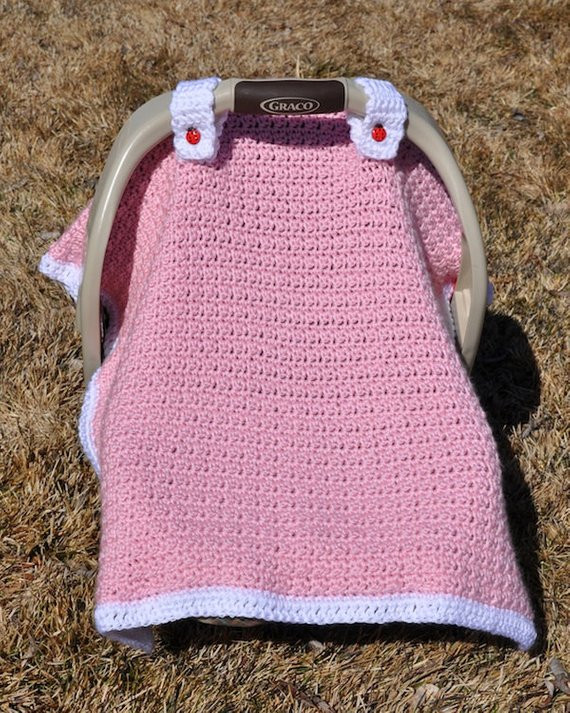 Luxury Crochet Pattern Baby Licious Car Seat Canopy Blanket Crochet Seat Cover Of Great 40 Models Crochet Seat Cover
