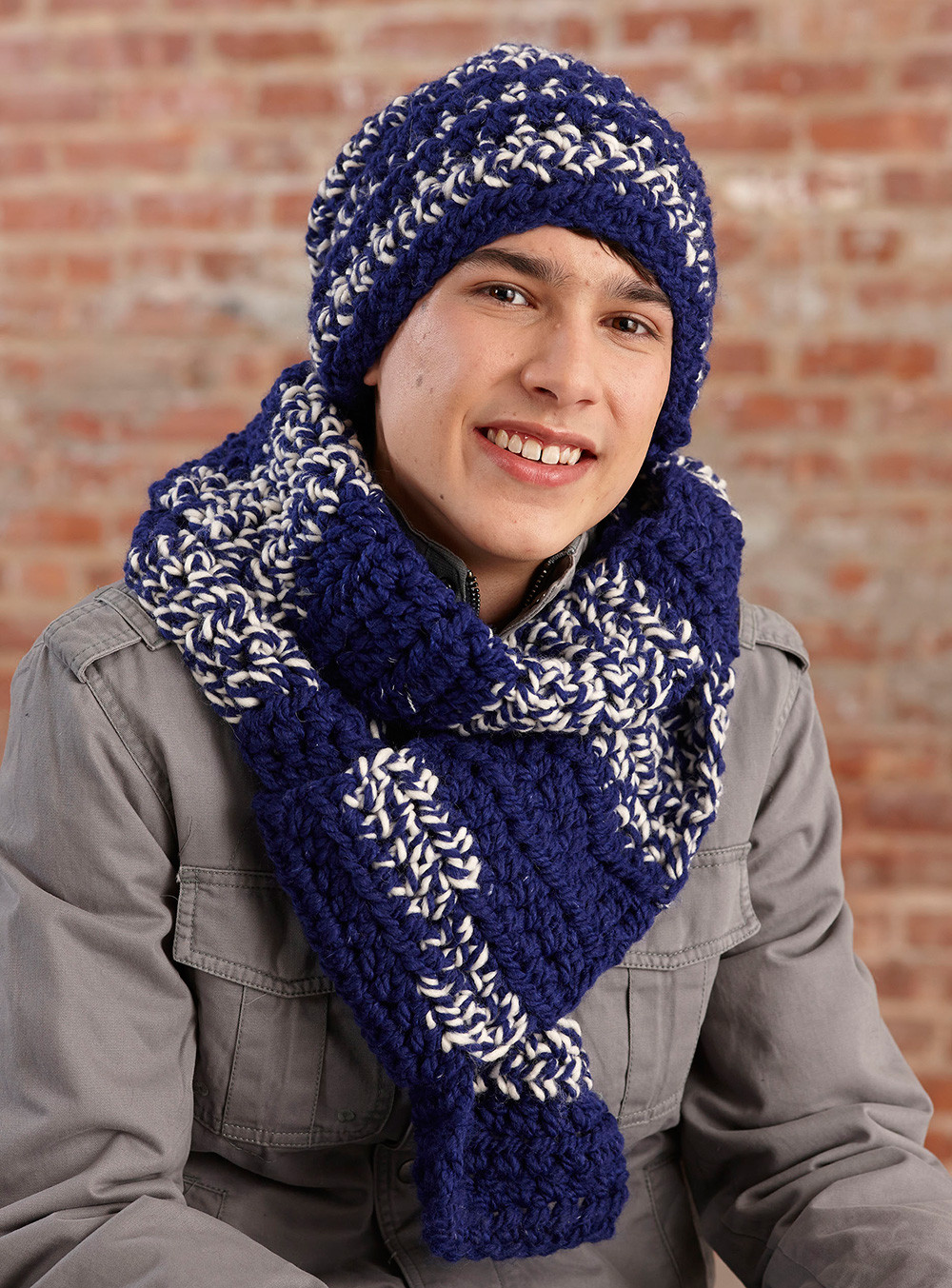 Crochet Pattern Hat And Scarf Dancox for