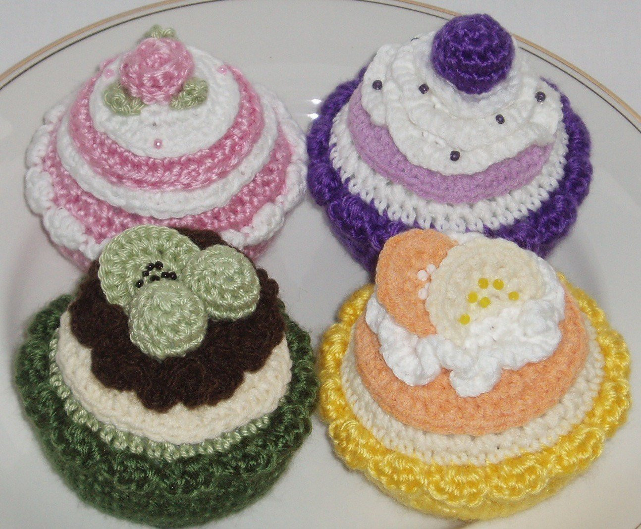 Luxury Crochet Pattern Instant Crochet Cakes and Tarts Crochet Cake Of Incredible 40 Ideas Crochet Cake