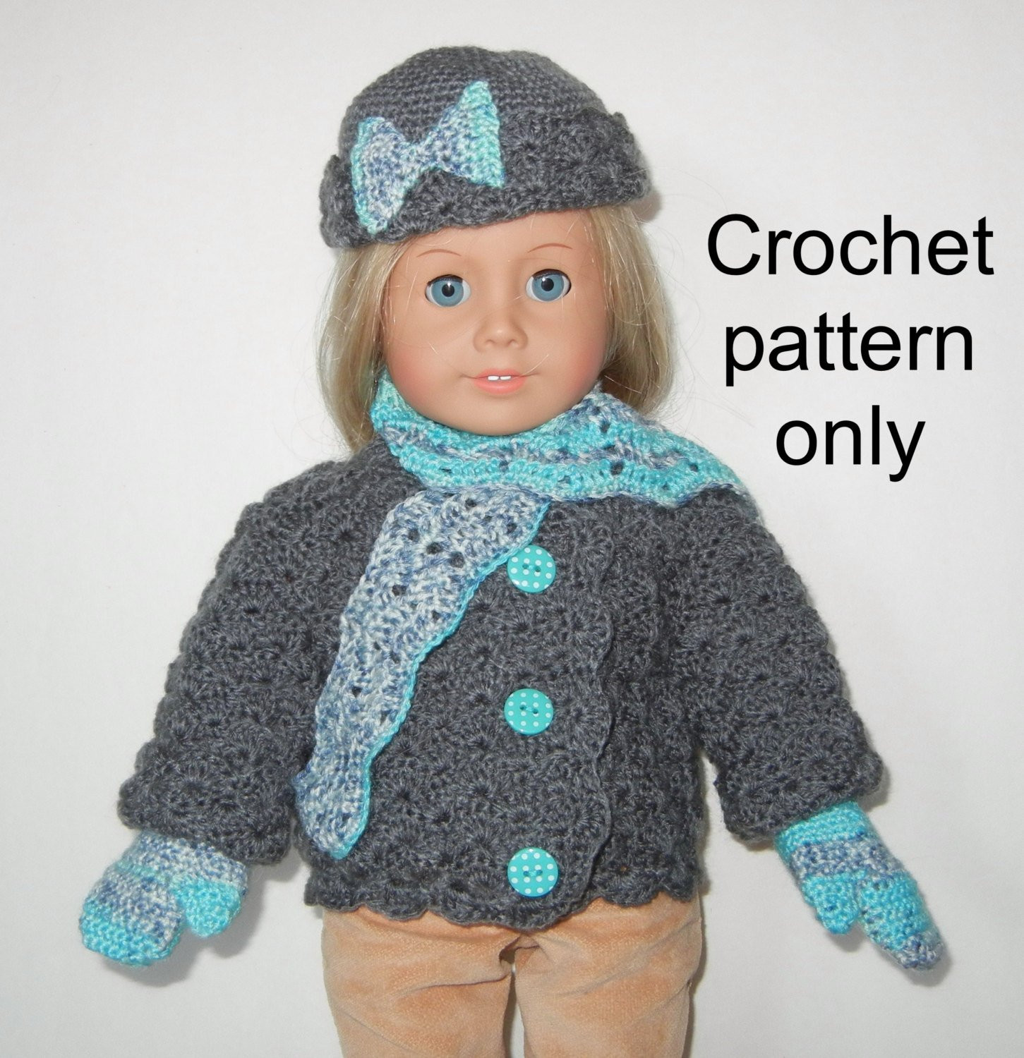 Luxury Crochet Pattern Pdf for 18 Inch Child Doll American Girl American Girl Doll Crochet Patterns Of Adorable 47 Pics American Girl Doll Crochet Patterns