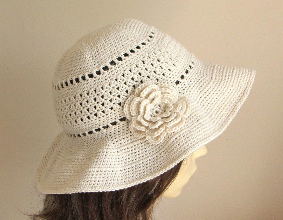 Luxury Crochet Pattern to Make A Sun Hat Instant Download Pdf Crochet Summer Hat Pattern Of Incredible 46 Photos Crochet Summer Hat Pattern