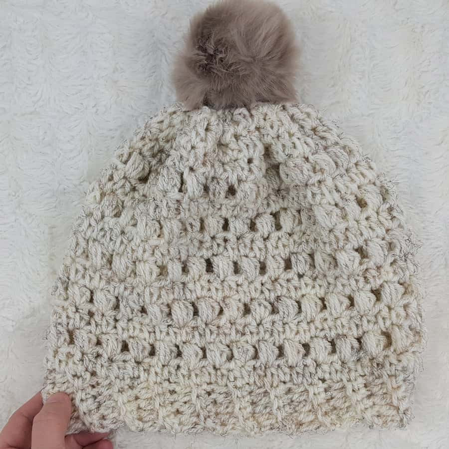 Luxury Crochet Puff Stitch Beanie ⋆ Rescued Paw Designs Crochet Puff Crochet Of Great 49 Ideas Puff Crochet