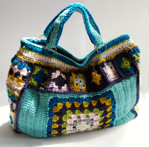 Luxury Crochet Purse Granny Square Weekend Bag Pattern Crochet tote Of Adorable 41 Images Crochet tote