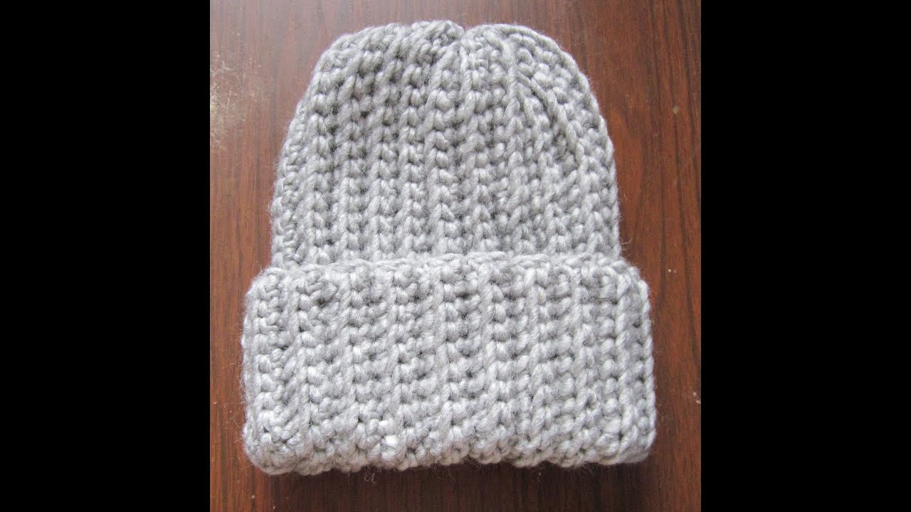 Luxury Crochet Ribbed Hat Simple Crochet Beanie Of Amazing 46 Ideas Simple Crochet Beanie