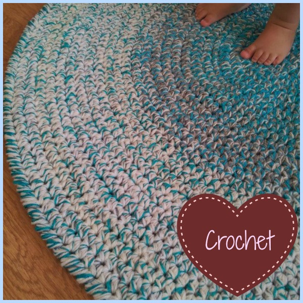 Luxury Crochet Round Rug ⋆ Look at What I Made T Shirt Rug Crochet Of Amazing 48 Pics T Shirt Rug Crochet