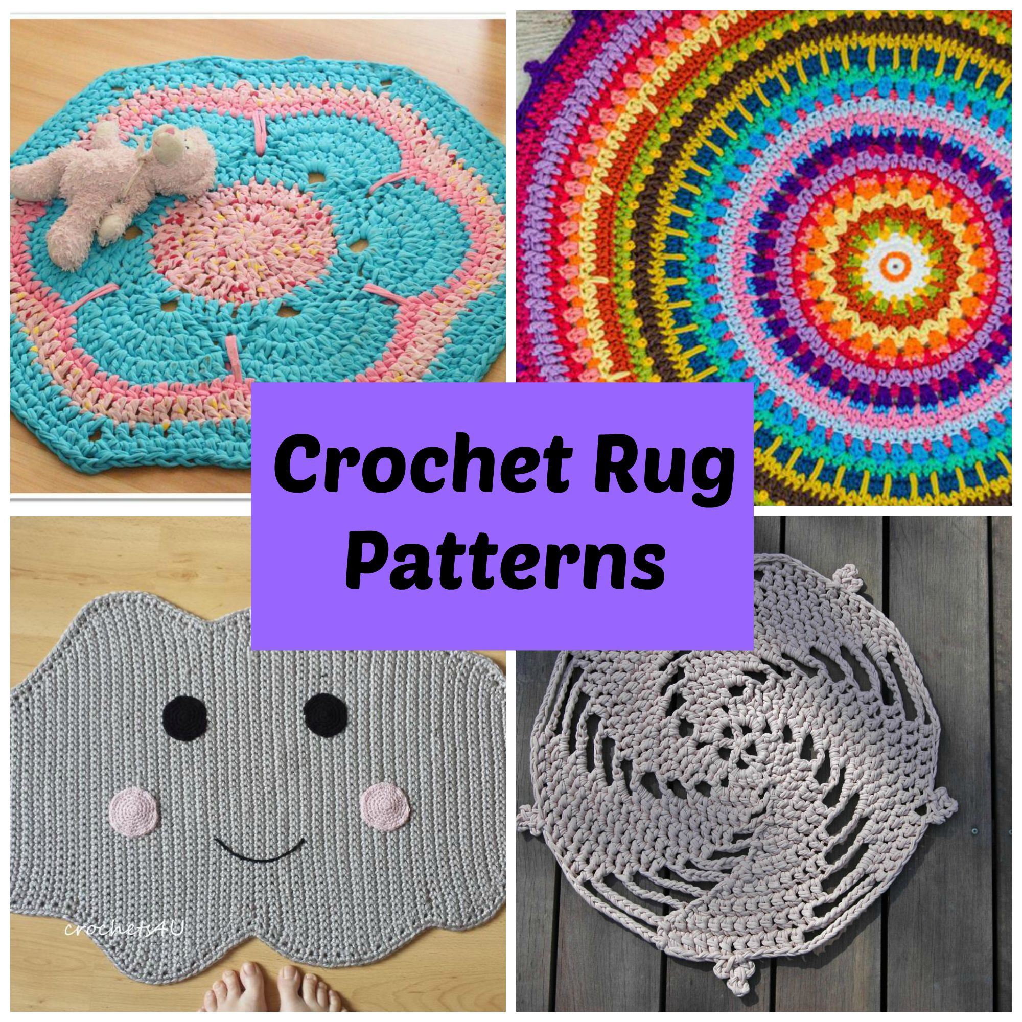 Luxury Crochet Rug Patterns for A Handmade Home Free Crochet Rug Patterns Of Delightful 48 Pics Free Crochet Rug Patterns