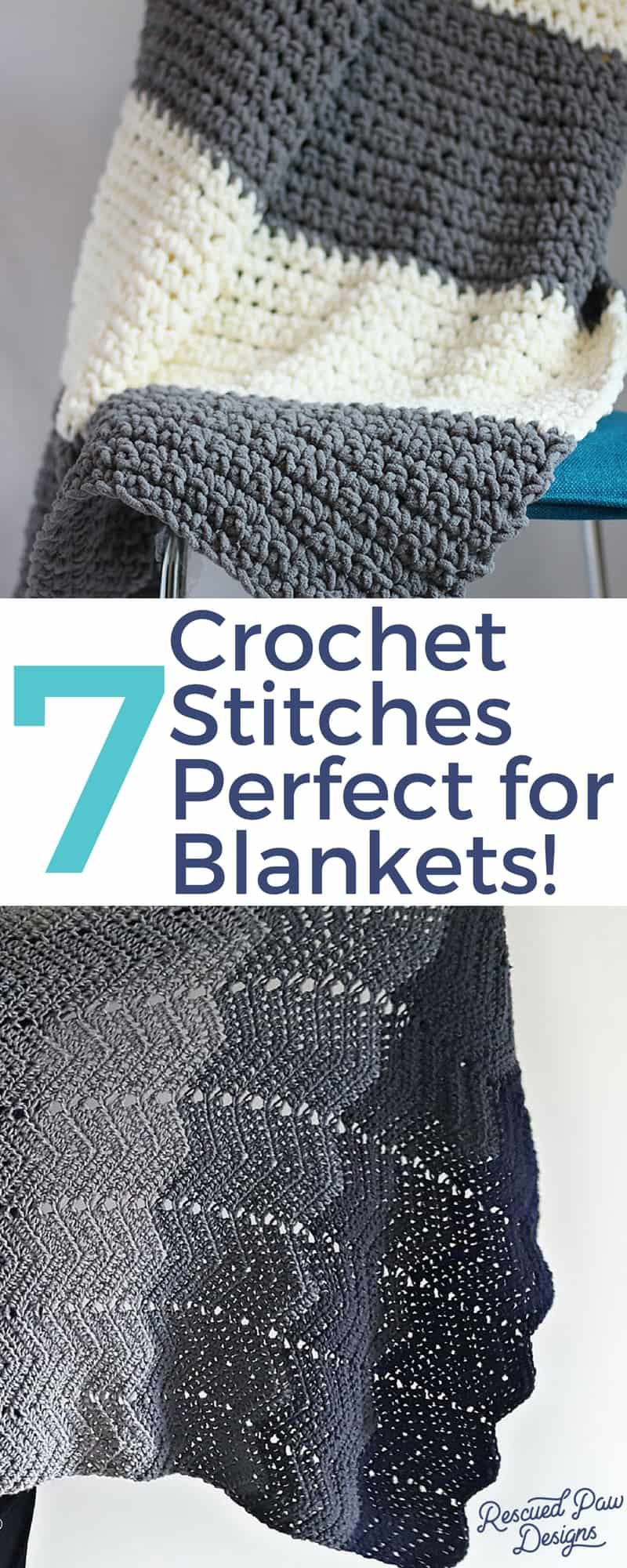 Luxury Crochet Stitches for Blankets ⋆ Rescued Paw Designs Crochet Different Crochet Stitches for Blankets Of Innovative 40 Pictures Different Crochet Stitches for Blankets