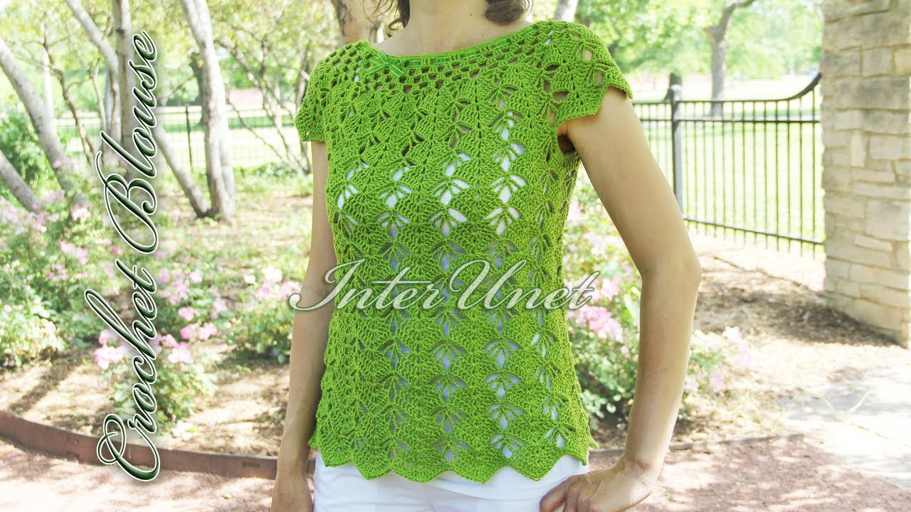 Luxury Crochet top Down Blouse Sleeveless Summer top Crochet Crochet Blouse Of Superb 46 Models Crochet Blouse