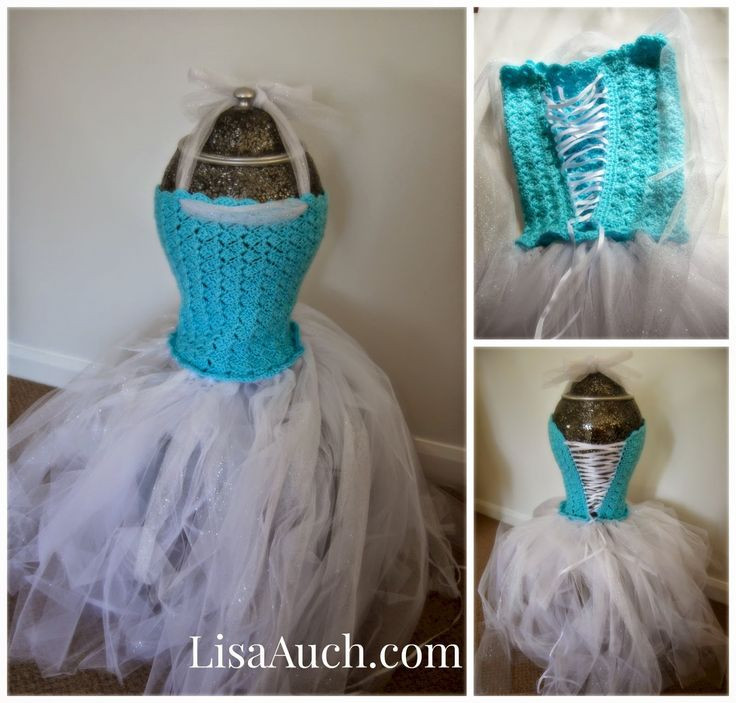 Crochet Top Tutu Dress For an Older Girl Free Crochet