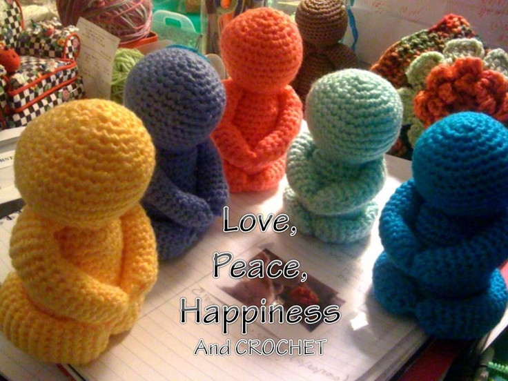 Crocheted Buddha Group MyCrafts Pinterest