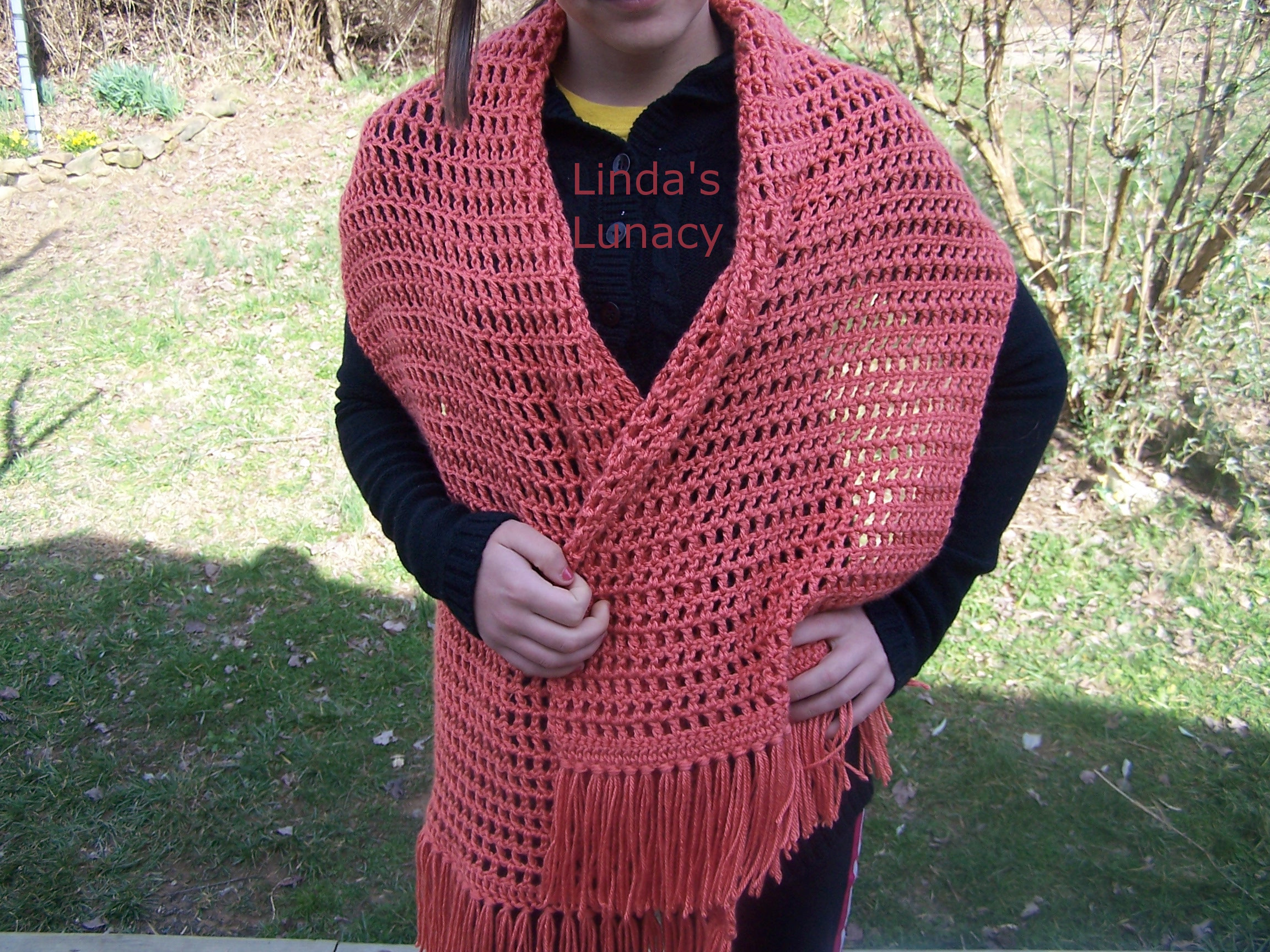 Crocheted Prayer Shawl Linda s Lunacy